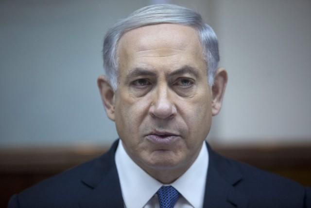 Le premier ministre israélien,Benyamin Nétanyahou.... (Photo Abir Sultan, AP)