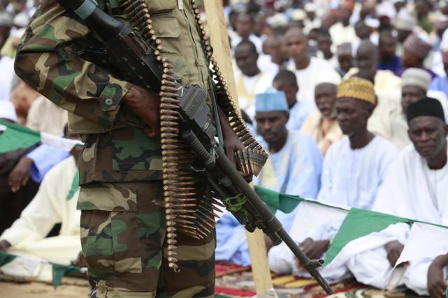 Les suspects ont été arrêtés durant les contrôles... (Photo Sunday Alamba, archives AP)