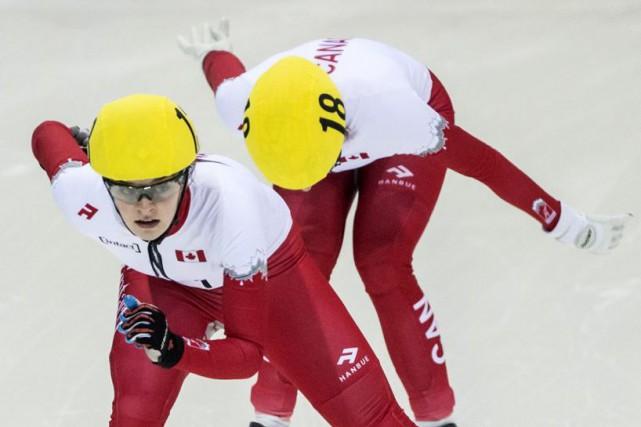 Kim Boutin a mérité une médaille de bronze... (PHOTO JENS MEYER, ARCHIVES AP)