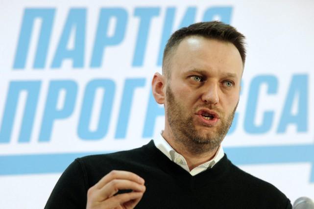 L'avocat et militant Alexeï Navalny est connu pour... (Photo Anton Belitskiy, AP)