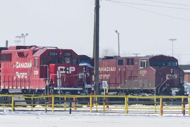 Quelque 3300 employés du CP, des cheminots et... (Photo Graham Hughes, PC)