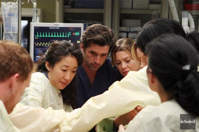 Cristina Yang (Sandra Oh), Derek Shepherd (Patrick Dempsey)... (Photothèque Le Soleil)