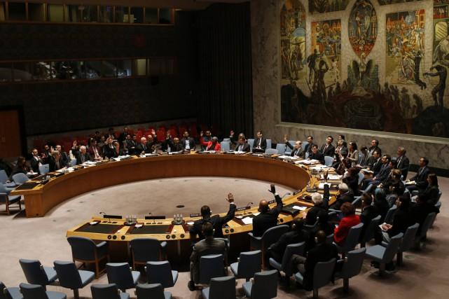 Le Conseil demande également à tous les protagonistes... (Photo Mike Segar, Reuters)