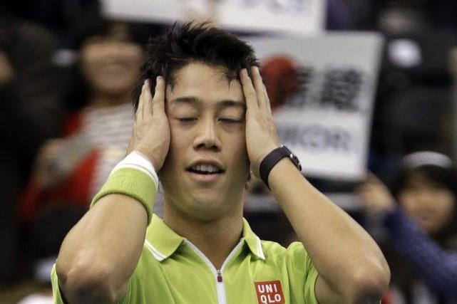 Kei Nishikori... (Photo: AP)