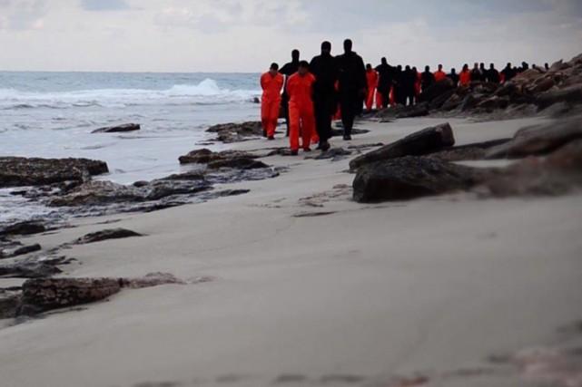 Sur la vidéo de dimanche, on ne voit... (Photo: AFP)