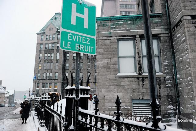 Un premier service de L'Hôtel-Dieu de Québec -... (Photothèque Le Soleil, Erick Labbé)