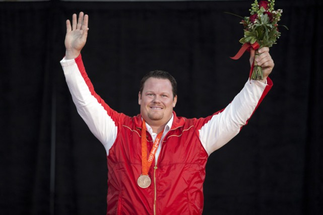 Dylan Armstrongest le premier Canadien à avoir décroché... (Photo: PC)