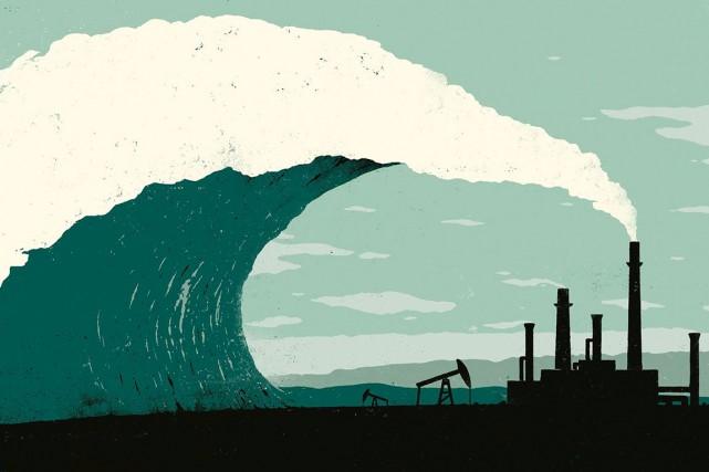 The Rising Tide, publiée dans le magazine The... (Illustration de Sébastien Thibault)