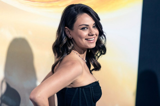 Mila Kunis... (Photo AP, Paul A. Hebert)