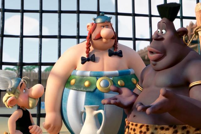 Astérix et Obélix (en 3D) dans Le domaine... (Image fournie par Métropole Films)