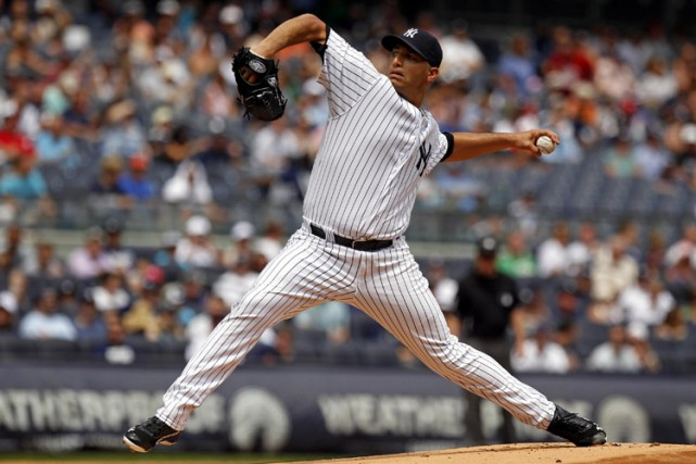 Andy Pettitte en août 2013.... (Archives Reuters)