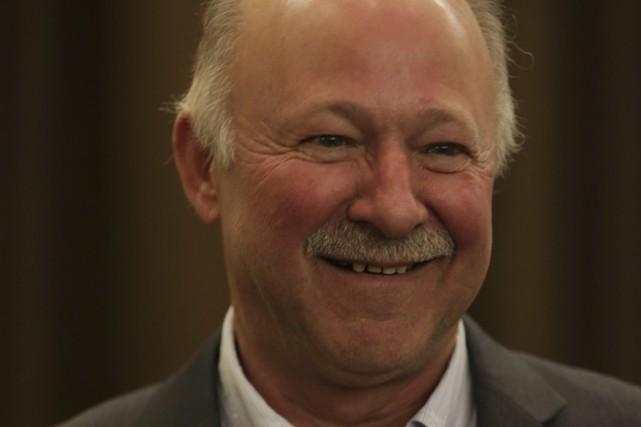 Denis Paradis a remporté hier l'investiture libérale dans... (photo Catherine Trudeau)
