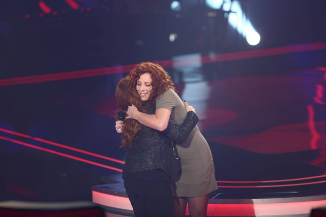 Priscillia Quirion et d'Isabelle Boulay... (Photo Facebook)