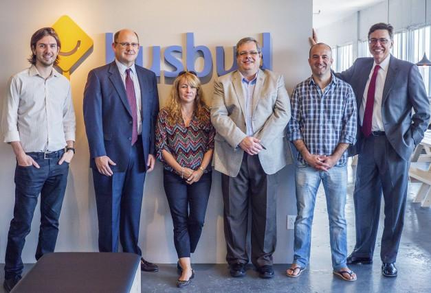 LP Maurice, président de Busdud (à gauche), et... (Photo fournie par Busbud)