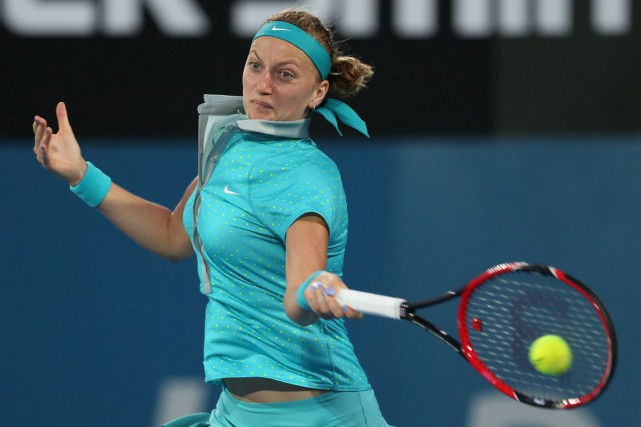 Petra Kvitova... (Photo Craig Golding, archives AFP)
