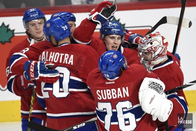 Le match de samedi contre les Maple Leafs... (PHOTO BERNARD BRAULT, LA PRESSE)