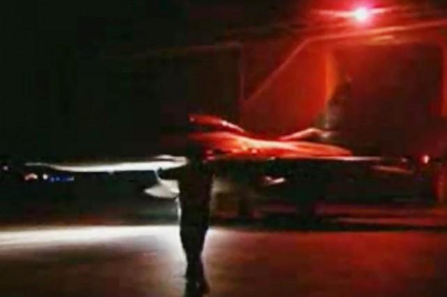 Les militaires ont rendu publiques des images montrant... (IMAGE AP VIDÉO/TÉLÉVISION D'ÉTAT ÉGYPTIENNE)