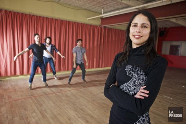 La metteuse en scène Menka Nagrani a découvert... (Photo André Pichette, La Presse)
