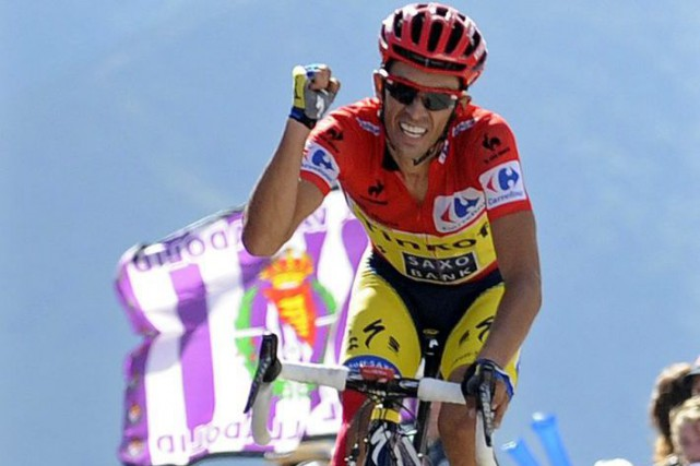 Alberto Contador... (Photo Paulo Duarte, archives AP)