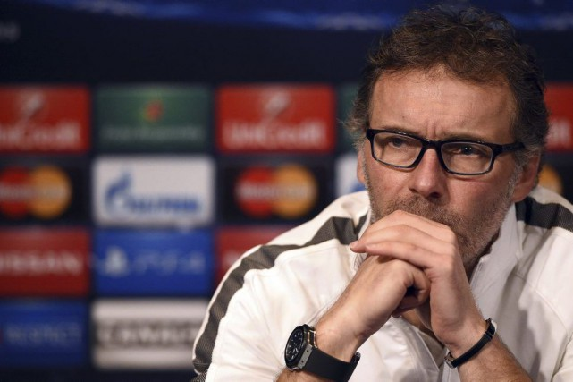 L'entraîneur du Paris SG, Laurent Blanc.... (PHOTO FRANCK FIFE, AFP)