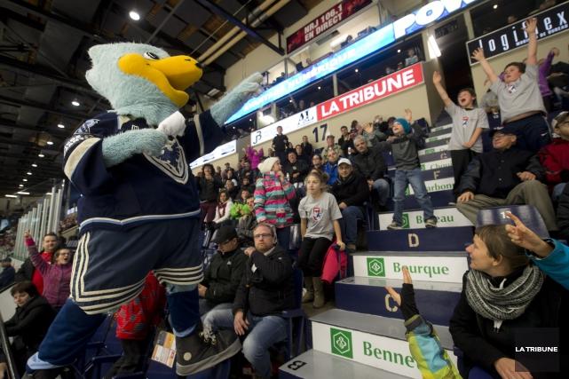 La saison 2015-2016 du Phoenix de Sherbrooke n'est toujours pas commencée, mais... (Archives La Tribune, Julien Chamberland)