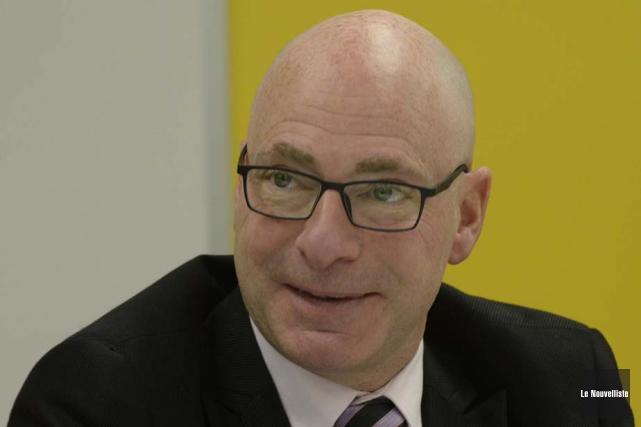 Le ministre Jean-Denis Girard... (Photo: Sylvain Mayer, Le Nouvelliste)