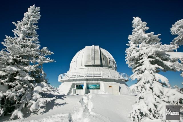 L'Observatoire du Mont-Méganticse trouve sur la corde raide... (Archives La Presse)
