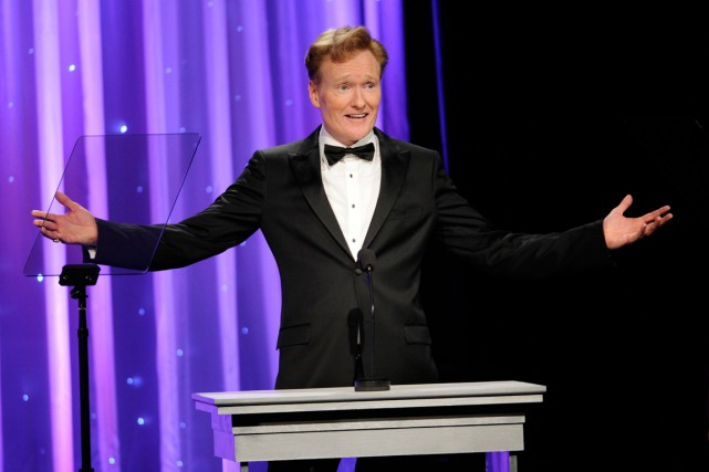 Conan O'Brien... (PHOTO CHRIS PIZZELLO, ARCHIVES AP)