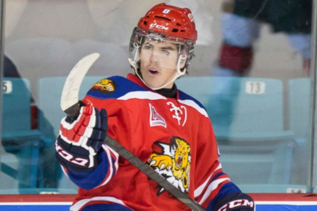 Conor Garland, des Wildcats de Moncton.... (Photo fournie par la LHJMQ)