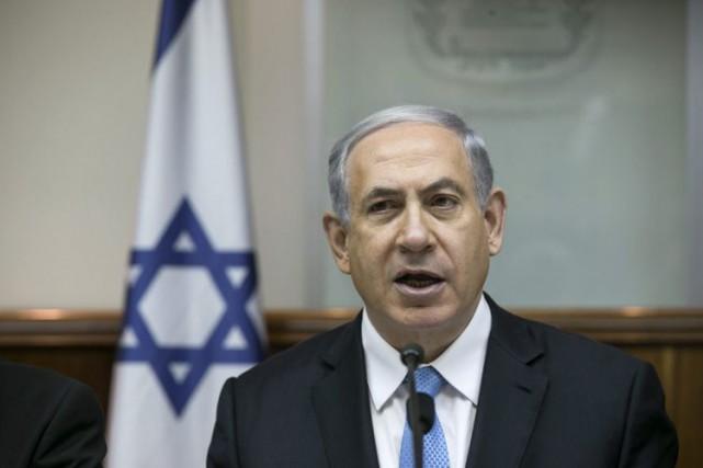 Le premier ministre d'Israël,Benyamin Nétanyahou.... (Photo d'archives, AP)