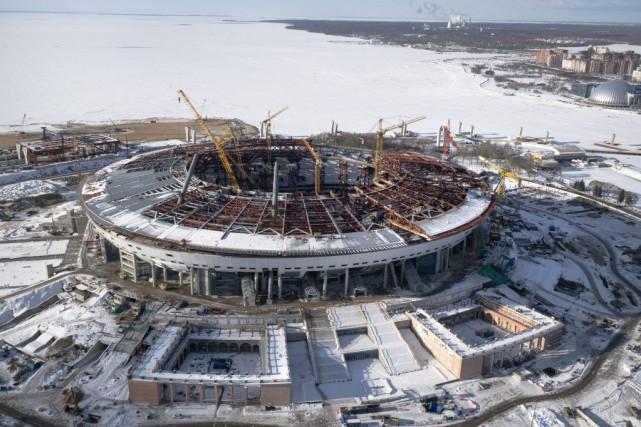 Les quatre stades pour la Coupe des confédérations... (Dmitry Lovetsky)