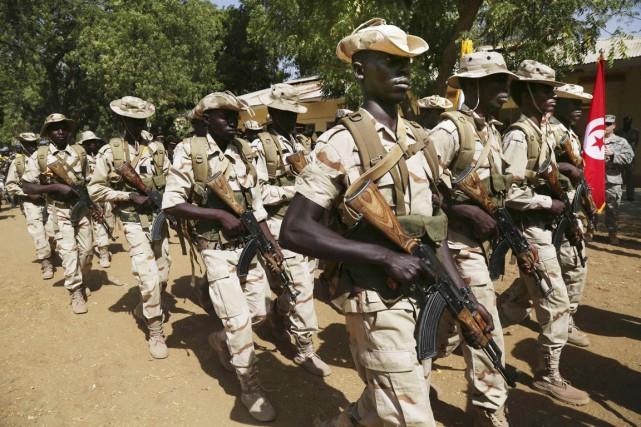 L'armée tchadienne intervient depuis début février contre Boko... (PHOTO EMMANUEL BRAUN, REUTERS)
