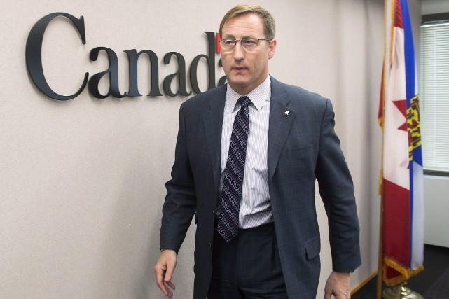 Le ministre de la Justice Peter McKay s'est... (PHOTO ANDREW VAUGHAN, LA PRESSE CANADIENNE)