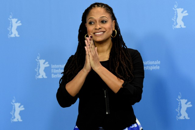 Ava DuVernay à la 65e Berlinale pour son... (PHOTO TOBIAS SCHWARZ, REUTERS)
