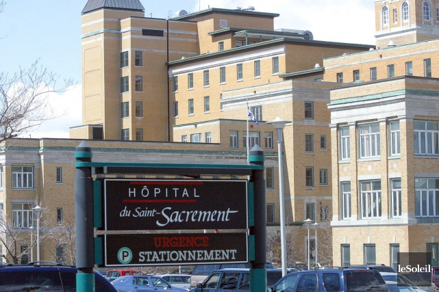 Concernant les équipes de médecine hospitalière qui prennent... (Photothèque Le Soleil)