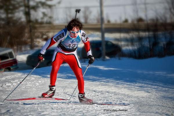 Une première course, une première médaille pour un biathlète de l'Outaouais aux... (Gary Duncan, photo de courtoisie)