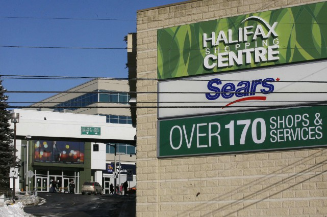 Le complot visait ce centre commercial d'Halifax.... (PHOTO DARREN PITTMAN, REUTERS)