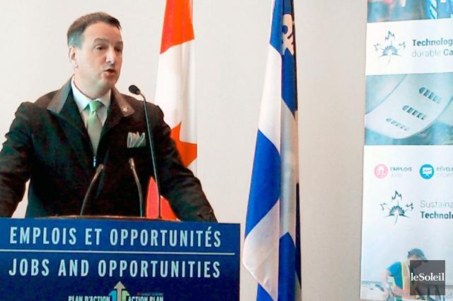 Le ministre fédéral des Ressources naturelles, Greg Rickford,... (Photo Le Soleil, Yves Therrien)