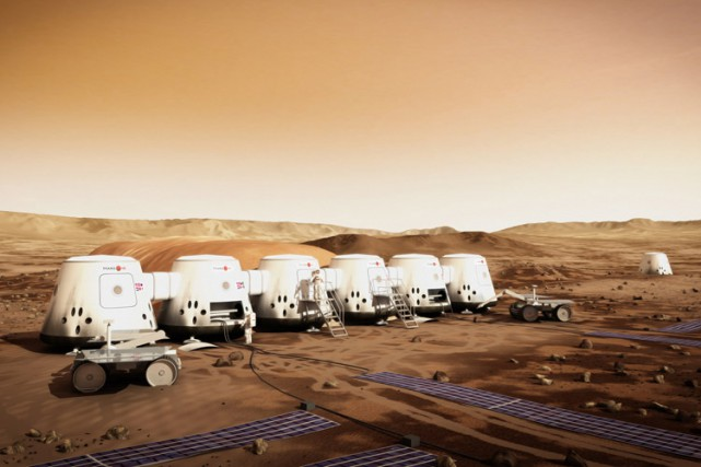 Selon Mars One, le projet coûtera environ 6... (Photo: PC)