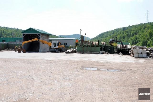 La scierie de Petit-Saguenay, relancée dans le cadre... ((Archives Le Quotidien))