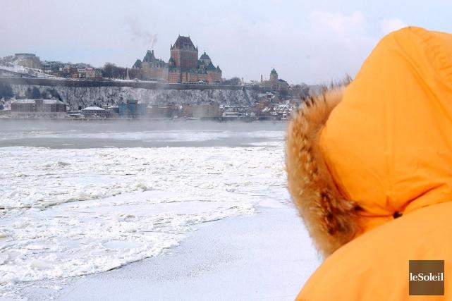 Environnement Canada a mesuré une température moyenne de... (Photothèque Le Soleil, Erick Labbé)