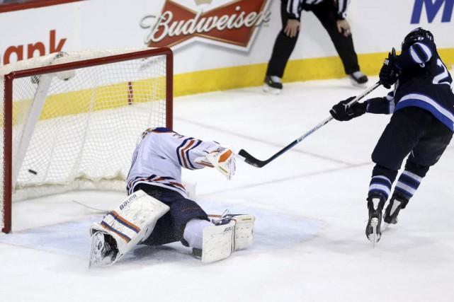 Blake Wheeler a été le seul à marquer en fusillade et les Jets de Winnipeg ont... (Photo: PC)