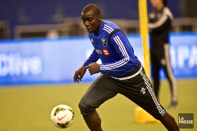 Le nouveau venu Bakary Soumare croit que l'Impact... (Photo André Pichette, La Presse)