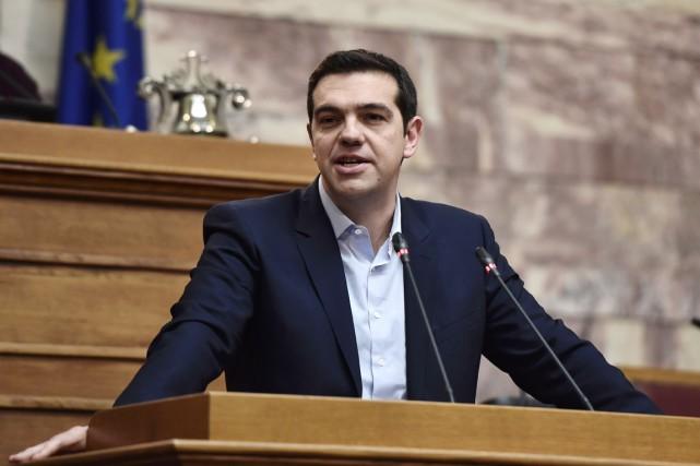 «La Grèce n'accepte pas les conditions et les... (PHOTO ARIS MESSINIS, AFP)
