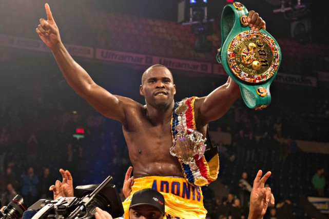 Adonis Stevenson... (Photo Jacques Boissinot, PC)