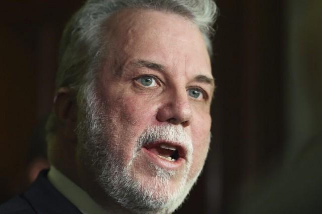 Philippe Couillard juge que les craintes exprimées par... (PHOTO JACQUES BOISSINOT, LA PRESSE CANADIENNE)