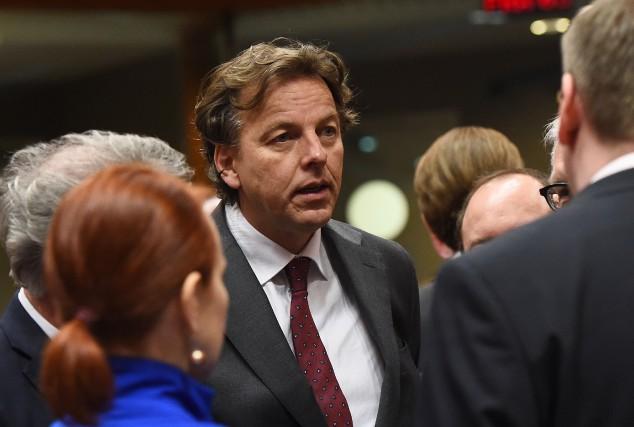 Le ministre néerlandais des Affaires étrangères, Bert Koenders... (PHOTO EMMANUEL DUNAND, AFP)
