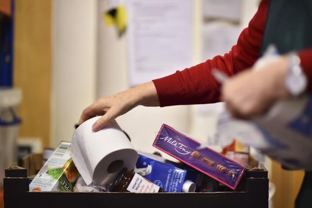 Le don de charité médian en 2013 pour... (Agence France-Presse)