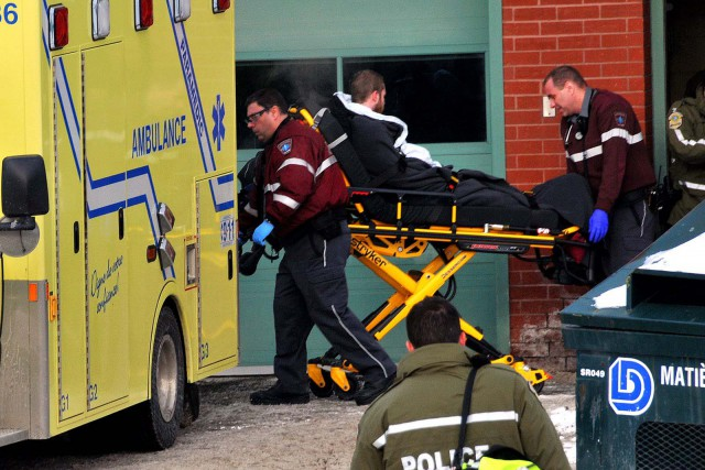 Les suspects ont subi de graves engelures après... (Photo collaboration spéciale Éric Beaupré)