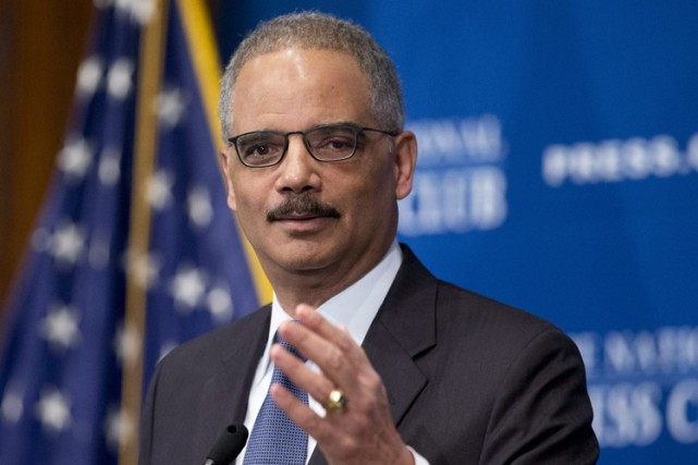 Le ministre de la Justice Eric Holder.... (PHOTO ARCHIVES AP)